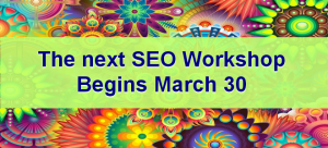 BlogAid SEO Workshop March 2017